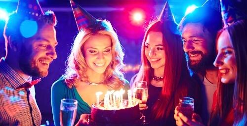 Oslava narozenin pro dospělé