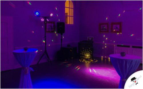 Svatební dj - světla a ozvučení